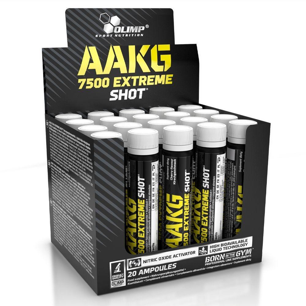 Olimp AAKG 7500 Extreme Shot™ aminosav 1karton (25mlx20db)