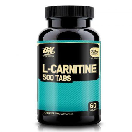 ON L-Carnitine 500 TABS  - 60 tabletta l-karnitin tartalmú diétás termék