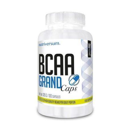 PurePro - BCAA Grand Caps - 100 kapszula aminosav táplálékkiegészítő