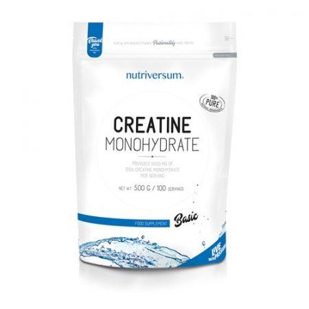 Basic Creatine Monohydrate 500g kreatin monohidrát por