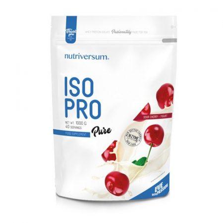 Pure Iso PRO 1000g tejsavó fehérje meggy-joghurt ízben