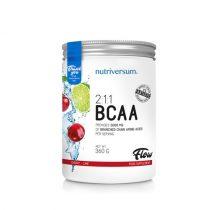 BCAA 2:1:1 Flow 360g aminosav táplálékkiegészítő különböző ízekben