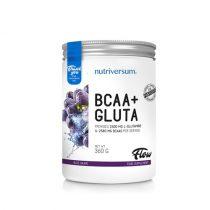 FLOW BCAA+Gluta 360g aminosav táplálékkiegészítő különböző ízekben