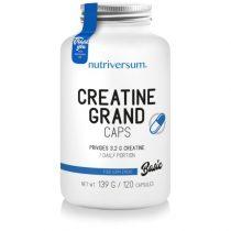 BASIC Creatine PRO Grand Caps kreatin kapszula sportolóknak, testépítőknek