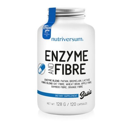 BASIC Enzyme and Fibre 120 kapszula