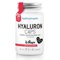 WSHAPE Hyaluron 60 kapszula szépségvitamin