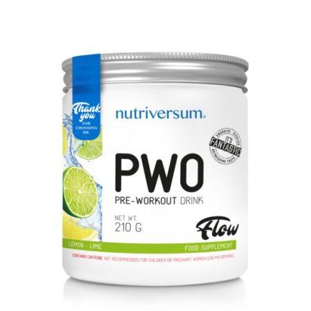 FLOW PWO 210 g edzés előtti teljesítménynövelő készítmény