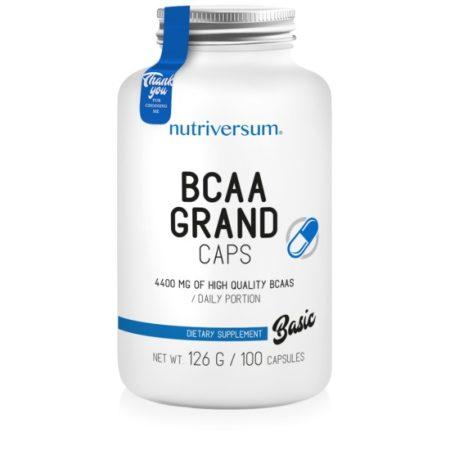 BCAA Grand Caps 100 kapszulás BCAA aminosav táplálékkiegészítő