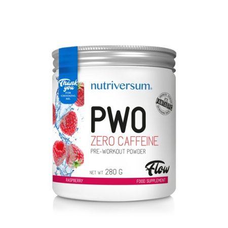 FLOW PWO Zero Caffeine 280g