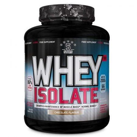 5Stars - Whey Isolate 2000g laktózmentes fehérjepor