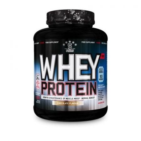5Stars - Whey Protein 3000g tejsavó fehérje