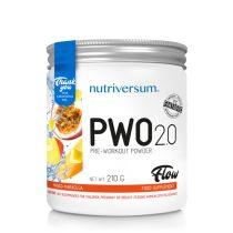 FLOW PWO 2.0 210g edzés előtti teljesítménynövelő készítmény