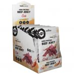 High Protein Beef Jerky - chili 1karton füstölt marhahúsból készült fehérjeforrás