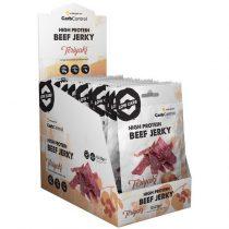 High Protein Beef Jerky Teriyaki 1karton füstölt marhahúsból készült fehérjeforrás