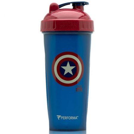 Szuperhősös Amerika Kapitány shaker