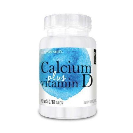 PurePro - Calcium + D Vitamin 60 tabletta kalcium vitamin készítmény