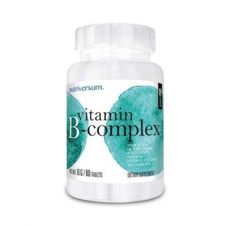 PurePro - B-complex 60 tabletta B vitamin