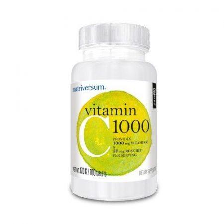 PurePro - Vitamin C 1000 - 100 tabletta C-vitamin készítmény