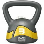Body Sculpture Kettlebell 3 kg sárga