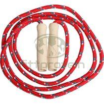 Ugrókötél fonatolt 2,5 m piros