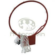 Kosárgyűrű hálóval fehér hálóval
