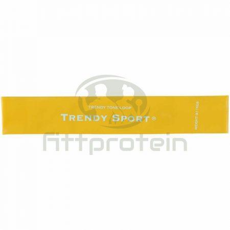 Láberősítő gumihurok Trendy gyenge sárga