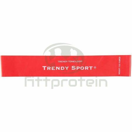 Láberősítő gumihurok Trendy erős piros