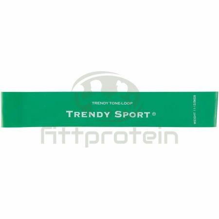 Láberősítő gumihurok Trendy közepes zöld