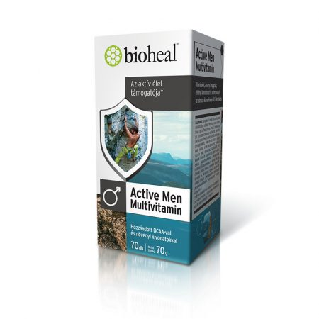 Bioheal Active Men Multivitamin 70 tabletta