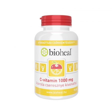 Bioheal C-vitamin 1000 mg acerola cseresznye kivonattal 70 tabletta