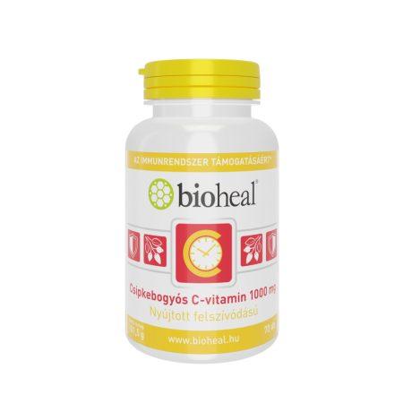 Bioheal Csipkebogyós C-vitamin 1000 mg nyújtott felszívódással 70 tabletta