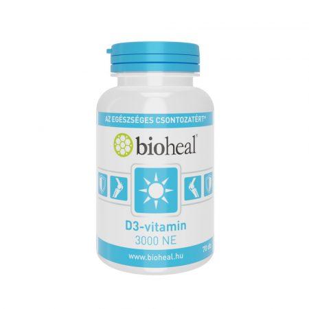 Bioheal D3-vitamin 3000 NE 70 kapszula