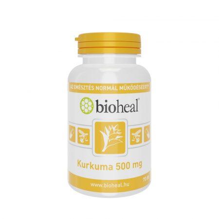 Bioheal Kurkuma 500 mg 70 kapszula