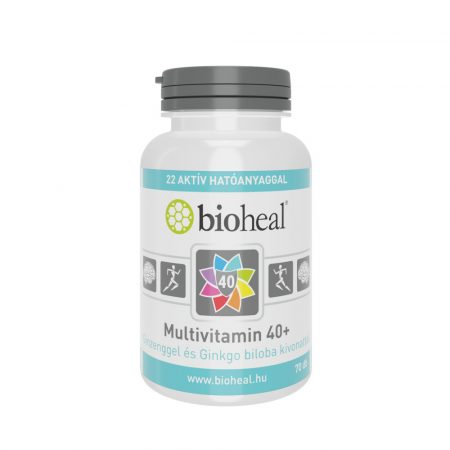 Bioheal Multivitamin +40 - 70 tabletta