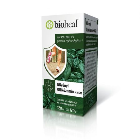 Bioheal Növényi Glükózamin + MSM 120 tabletta