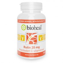 Bioheal Rutin 20 mg Hozzáadaott C-vitaminnal 70 tabletta