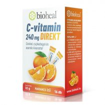 Bioheal C-vitamin 204 mg Direkt 16 tasak