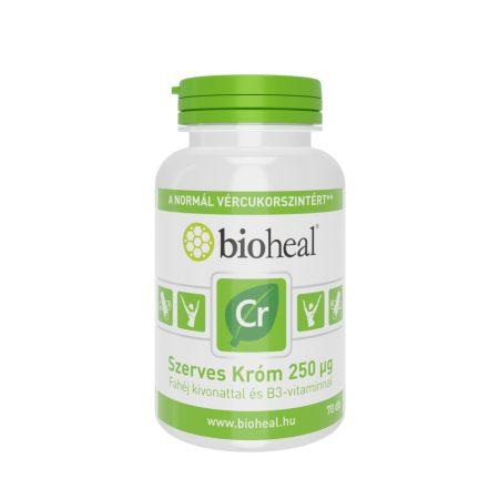 Bioheal Szerves&Természetes Króm 250 μg 70 tabletta