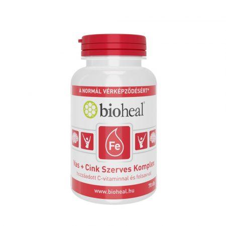 Bioheal Vas + Cink Szerves Komplex 70 tabletta