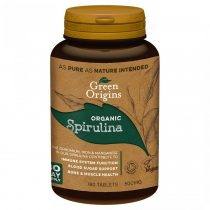 Green Origins BIO Spirulina tabletta 180db 500mg