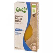 Felicia BIO Kukorica-Rizs Lasagne Gluténmentes Tészta 250g