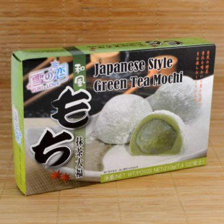 Mochi (japán édesség) zöld teás 210g