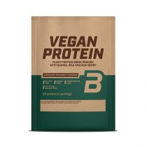 Biotech Vegan Protein, Fehérje Vegánoknak 1 karton (25gx10db)