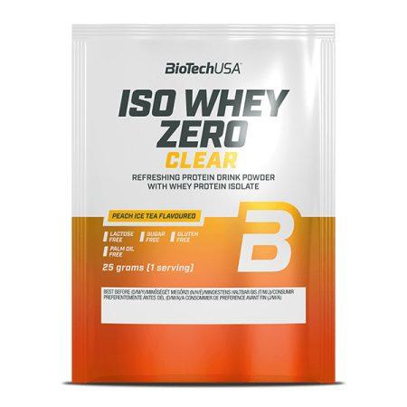 Biotech Iso Whey Zero Clear 1 karton (25gx10db)