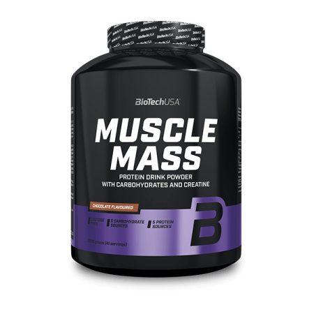 Biotech Muscle Mass Szénhidrát és Fehérjetartalmú italpor 2270g