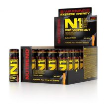 Nutrend N1 Pre-Workout Booster Shot edzés előtti teljesítménynövelő