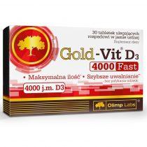 Olimp Gold-VIT D3 4000 Fast  30 tabletta