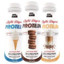 QNT Light Digest Shake laktózmentes fehérjeital