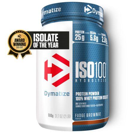 Dymatize Iso 100 - 900g prémium minőségű fehérje