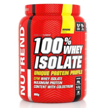 Nutrend 100% WHEY ISOLATE - 900g tejsavó fehérje